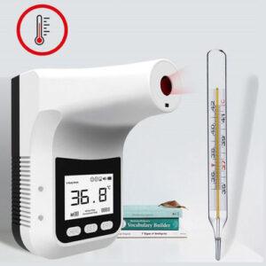 Natančnost merjenja temperature je primerljiva termometru z živim srebrom.